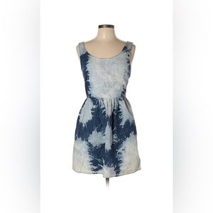 American Eagle Sz 8 Tie Dye Denim Dress EUC